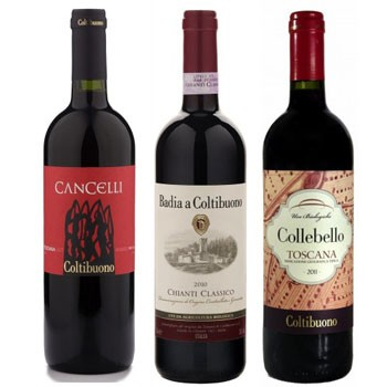 Bountiful Badia a Coltibuono Wine Trio