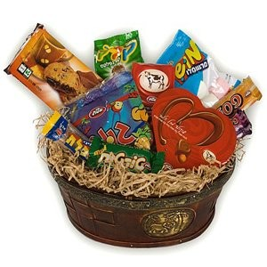 Basket of Chocolatey Delight