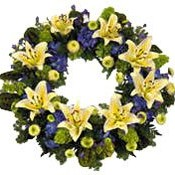 Beautiful Wreath Arrangement