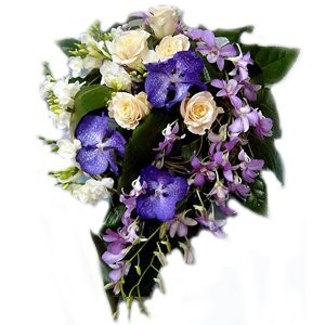 Depth Of Passion Bridal Bouquet