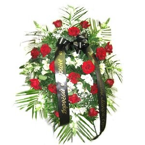 Lively Funeral Wreath