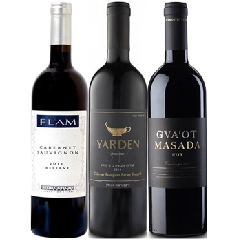 Finest of Israel Wine Trio