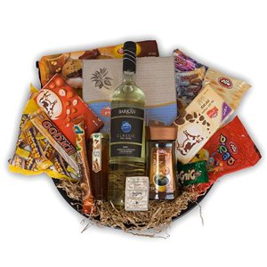 Hanukkah Basket - Kosher-Baskets on www.israelflorist.com