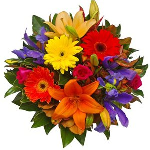 Vibrant Gems Bouquet