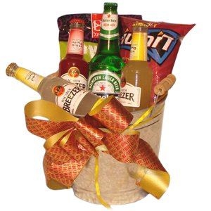 Breezer Bucket Gift Set
